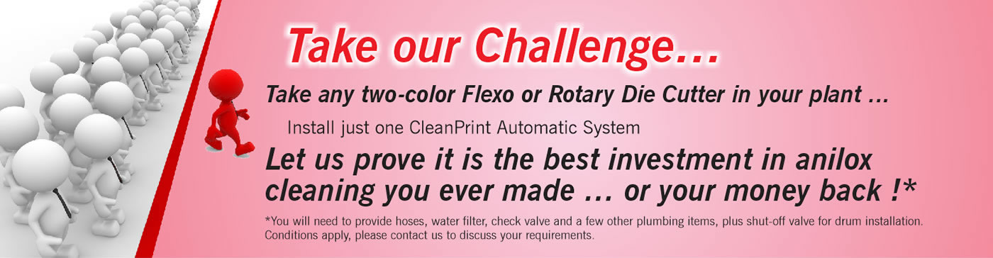 CleanPrint Automatic System challenge